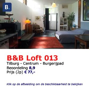 bed and breakfast tilburg Loft 013