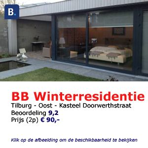 bed and breakfast tilburg Winterresidentie