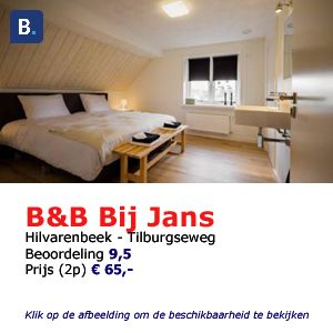 bed and breakfast Bij Jans in Hilvarenbeek