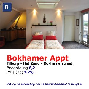bed and breakfast Tilburg Bokhamer